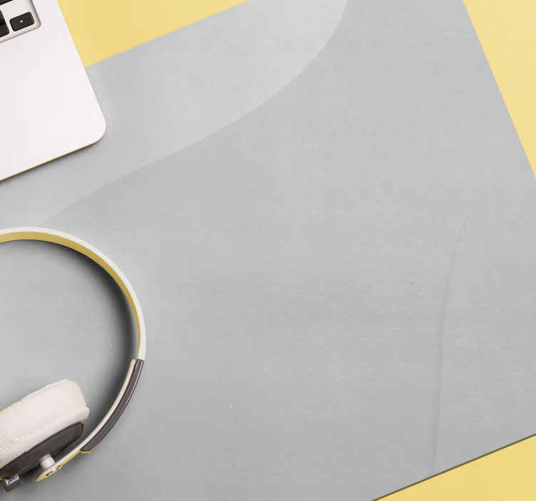 TenStickers. White original vinyl mouse pad. A white colour mouse padmade from high quality material. It is available in different dimensions, easy to use and clean.