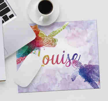 Come check our colourful mousemat with name that you can customize just how you prefer. We deliver to your home no matter where you live.
