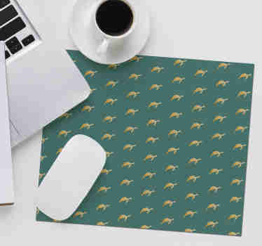 Come check out our awesome geometric mousepad that has small turtles on it. We have lot of discounts available on our website.