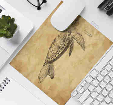 Make sure to look at our gorgeous original mousepad with a turtle drawing which is customizable. The product is home delivered.