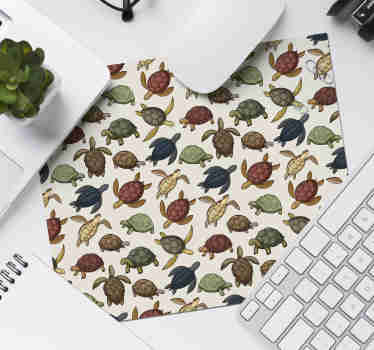 Check out our fabulous different varieties of turtles mousepad that has different shades of green. It leaves zero residues upon removal.