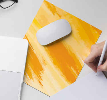 A lovely simple yellow colour mouse pad for your desktop. It is easy to use and maintain.  We have it in various size options.