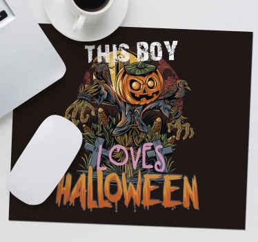 Aimez-vous halloween? Si vous le faites, vous devriez acheter ce tapis de souris original avec un design halloween. Facile à entretenir et de haute qualité.