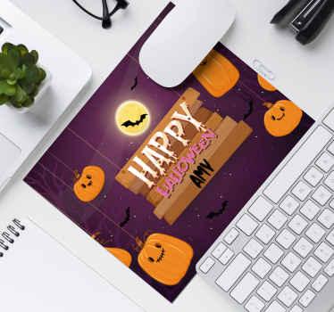 Få en halloween-musematte, gjør skrivebordet ditt klart for denne skumle sesongen! Ekstremt høykvalitets og langvarig materiale.
