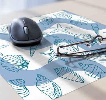 Ajoutez ce magnifique tapis de souris en sticker coquillage à votre bureau pour beaucoup plus de caractère. Inscrivez-vous pour 10% de réduction sur votre première commande.