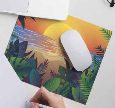 Ce tapis de souris soleil des années 70 est l'équipement parfait dont vous avez besoin pour votre bureau. Autocollant de haute qualité et très durable. Livraison à domicile!