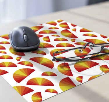 Tapis de souris à thème vintage avec un sticker de coucher de soleil et des couleurs vives, vous trouverez l'option parfaite pour configurer votre espace informatique. Rabais disponibles.