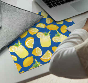 Order this citrus mousepad today and make sure you can really style up your home desk! Home delivery and easy to clean using hot water!