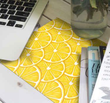 ¡Este diseño de alfombrilla ratón patrón cítrico será perfecto para su oficina en casa o para su portátil de estudiante! ¡Entrega a domicilio!