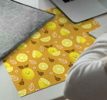 Beställ din citrusmousepaddesign idag och bli förvånad! Kan lätt tvättas med varmt vatten och lite vanlig neutral tvål. Beställ det idag!