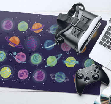 If you love planets this is the amazing gaming mouse pad that you should get into your household! Don't wait any longer and order today!