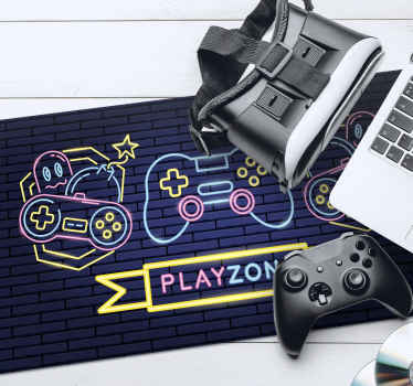 If you love gaming this is the amazing gaming vinyl mouse pad that you have to get into your room! Don't wait any longer and order today!