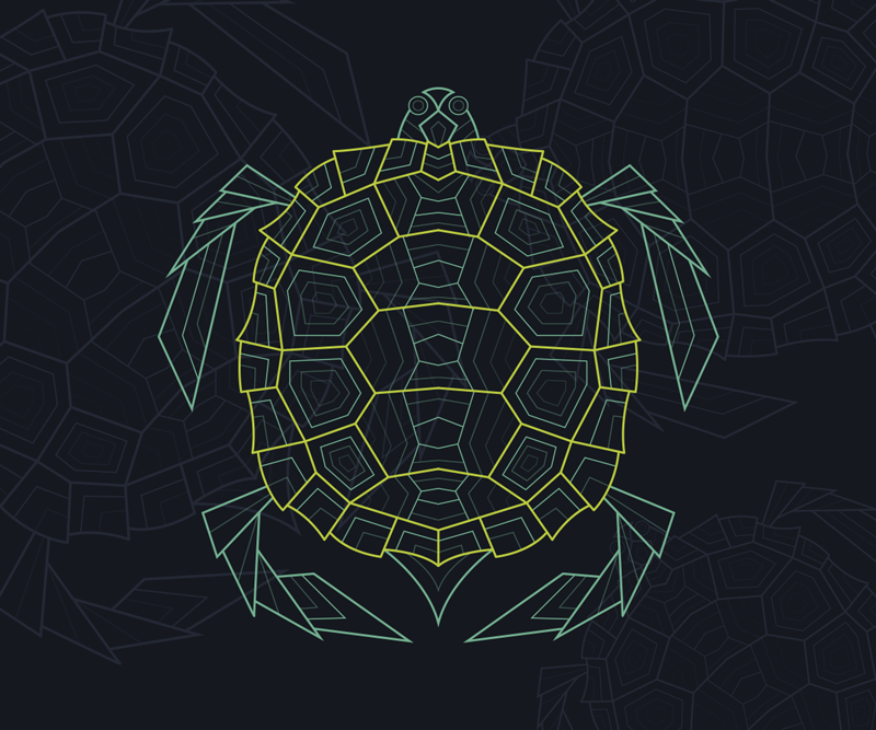 TenStickers. Abstract Geometric Turtle mouse mat. Check out our geometric turtle mousepad that has cool detailed details. Sign up for our website and you will get 10% off on your first order.