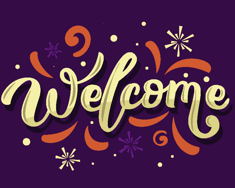 TenStickers. Welcome mouse pad with quotes. Lovely vinyl quote mouse pad design with inscribed ''welcome'' featured  with it amazingornamental background. It is made from high quality material.