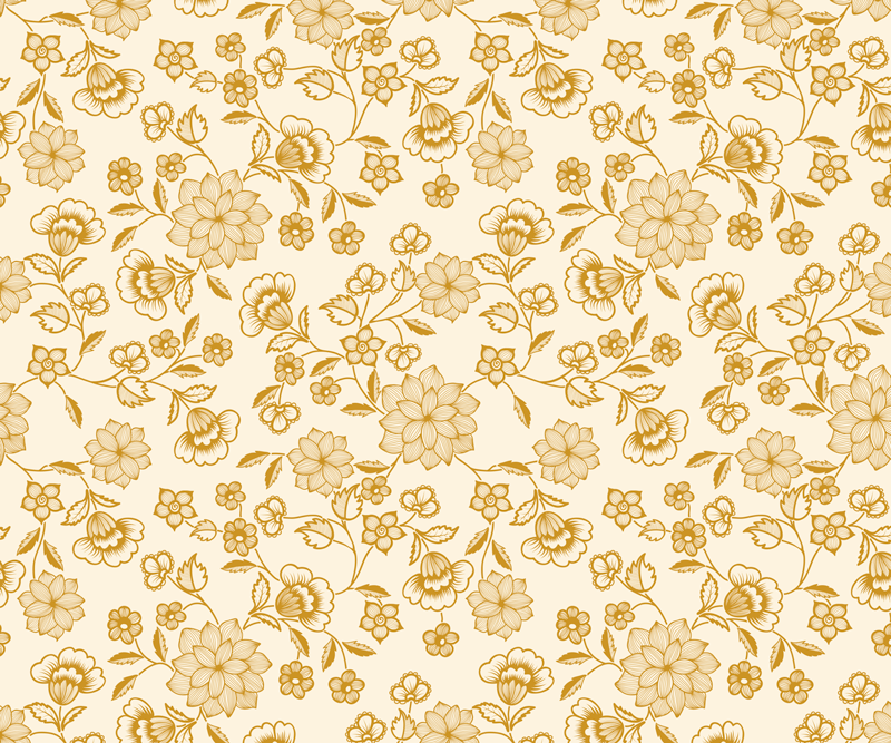 TenStickers. Tapis de souris Fleurs jaunes paisley. Un incroyable tapis de souris tendance avec un joli design pour décorer votre espace de travail. Il est facile à entretenir et la qualité est la meilleure du marché.