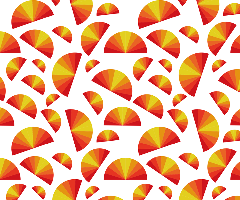 TenStickers. Vintage Sunset mouse pads patterns. Vintage themed mouse pad with a sunset pattern and bright colours you'll find the perfect option to set your computer area. Discounts available.