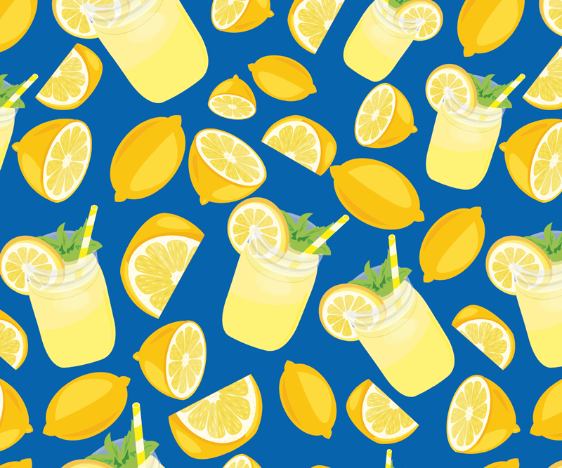 TenStickers. Lemon Juice citrus mouse mat. Order this citrus mousepad today and make sure you can really style up your home desk! Home delivery and easy to clean using hot water!