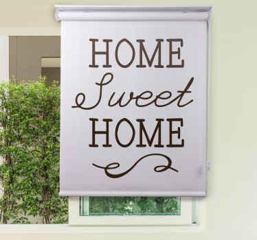 """Nic není lepší než váš vlastní domov. Notoricky známý citát, který každý ví, je samozřejmě """"home sweet home"""". Získejte tuto nabídku jako slepý obývací pokoj!"""