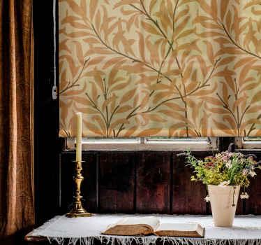 Slepá elegance s elegantním designem oranžových listů ideální pro to, abyste dekoraci svého domova dodali originální a exkluzivní styl.