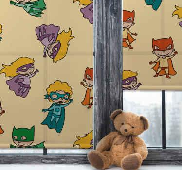 Přiveďte do svého dětského pokoje několik superhrdinů s touto úžasnou dětskou roletou! Už nečekejte a objednejte si tuto fantastickou dětskou roletu hned teď!