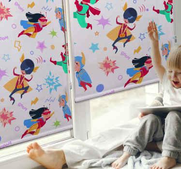 Dopřejte své dceři pocit, že je superžena s touto úžasnou roletou do ložnice superženy! Objednejte si tuto fantastickou dětskou roletu ještě dnes!