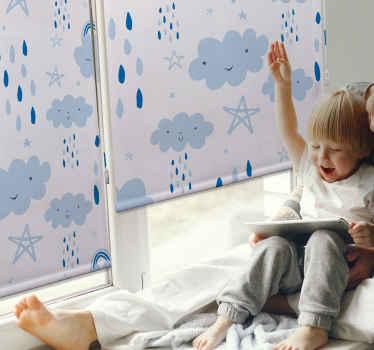 Přizpůsobte si prostor svého dítěte pomocí našeho originálního deštivého usmívajícího se stínítka s cloudovým oknem. Je možné jej přizpůsobit podle vašich požadavků.