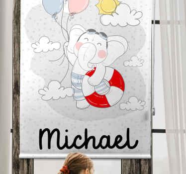 Oživte svůj dětský prostor s naší potištěnou okenní roletou na míru instalovanou na okenním prostoru. Originální, odolné a přizpůsobitelné.