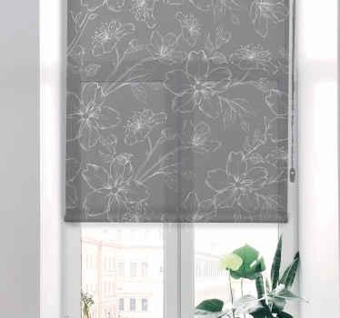 Přineste si do svého domova nebo kanceláře tento úžasný moderní květinový šedý květ, který lze přizpůsobit texturou materiálu, která vám nejlépe vyhovuje.