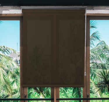 Začleňte naši hnědou moderní okenní roletu do svého domácího prostoru a buďte rádi, že jste to udělali kvůli úžasnému vzhledu, který byste přidali do svého prostoru.