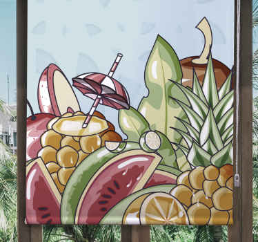 Prosít nebo skrýt, rajské ovoce, zelenina a roleta mohou být nezbytné, pokud jde o výzdobu, objevit všechny vnitřní žaluzie.
