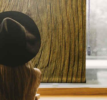 Rozhodněte se pro naše rustikální žaluzie typu gooden effect. Zkombinováním výzdoby pokoje s roletami a elegantním zdobením oken.