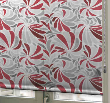 """Ozdobte si svůj dům tímto úžasným designem """"šedých a červených květů""""! Tento odstín fantasticky obývacího pokoje lze použít v jakékoli místnosti, kterou dáváte přednost."""
