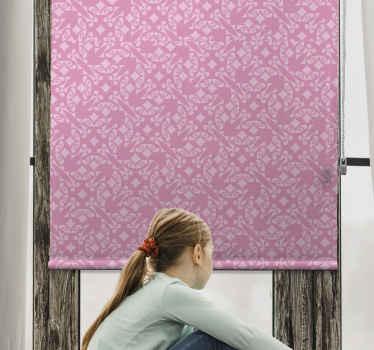 """Dopřejte svému pokoji nějakou barvu s touto úžasnou klasickou roletou """"růžové ozdobné"""". Už nečekejte a objednejte si tento úžasný design ještě dnes!"""