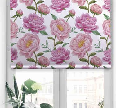 Rozjasněte svůj dům s touto úžasnou vintage roletou zobrazující květiny! Už nečekejte a objednejte si tento úžasný design hned!