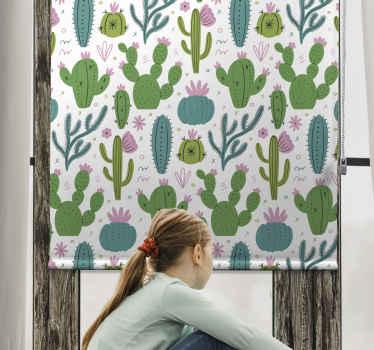 Přiveďte do svého domu květinovou sílu s touto úžasnou kaktusovou roletou. Už nečekejte a objednejte si tento úžasný design hned!