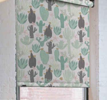 Ozdobte si svůj pokoj touto úžasnou kaktusovou roletou v severském stylu! Absolutně to změní atmosféru v celé místnosti. Objednat teď!