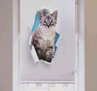 Miluješ kočky? To je fantastické! Podívejte se zde na náš design kočárkové rolety do obývacího pokoje. Téměř to vypadá opravdu! Nečekejte déle a objednávejte hned!