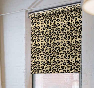 """Tato úžasná roleta do obývacího pokoje s """"leopardím potiskem"""" bude dokonalým doplňkem vašeho obývacího pokoje. Nečekejte déle a objednejte si ho ještě dnes!"""