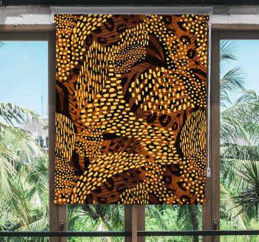 Miluješ leopardy? Pak je to ta úžasná roleta do obývacího pokoje, která vyzdobí váš dům tak, jak chcete! Objednat teď!