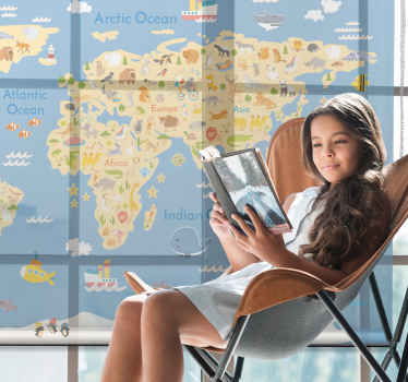 Tato teen roleta je realistická mapa světa v angličtině pro děti i dospívající. Perfektní způsob, jak vzdělávat své děti! Již předinstalovaný!
