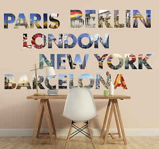 Location Wall Stickers