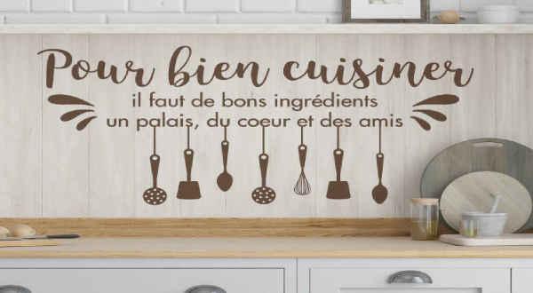 Stickers pour Cuisine