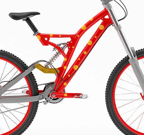 Klistremerker til sykkel