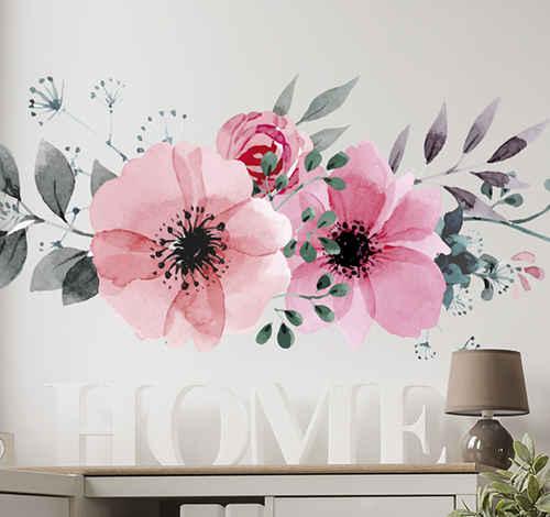 Wallsticker blomster