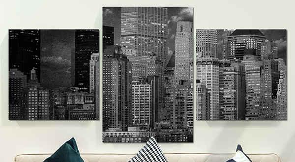 Decorative canvas prints