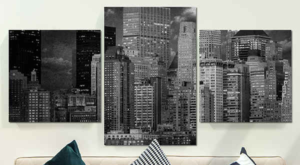 Living room canvas