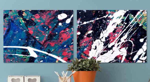 Canvas Schilderijen Abstract