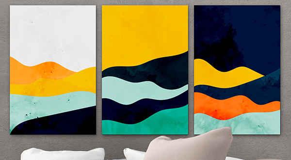 Moderni Slike na Platnu