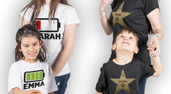 T-shirts para o Dia das Mães