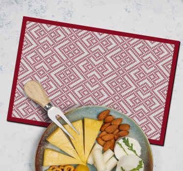 Dê um toque eslavo à sua mesa com este impressionante individual de mesa decorativo de vinil! Descontos disponíveis quando você se cadastra no nosso site.